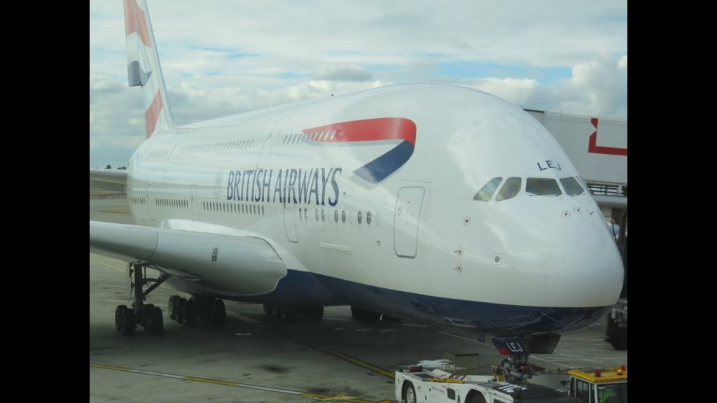 British Airways A380 business class London to Vancouver (decline in service)