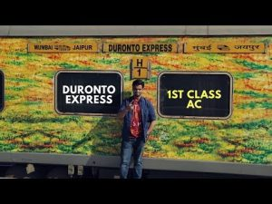 DURONTO EXPRESS FIRST CLASS JOURNEY