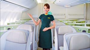 EVA Air Boeing 777 Business Class from Bangkok to London - SO GOOD!