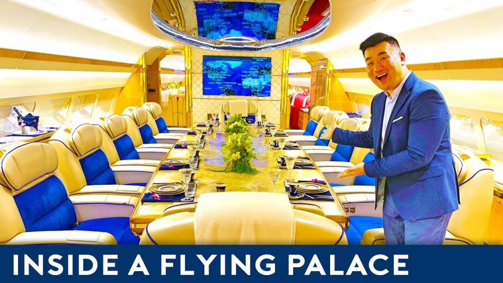 EXCLUSIVE: Inside World's Most LUXURIOUS Private Jet