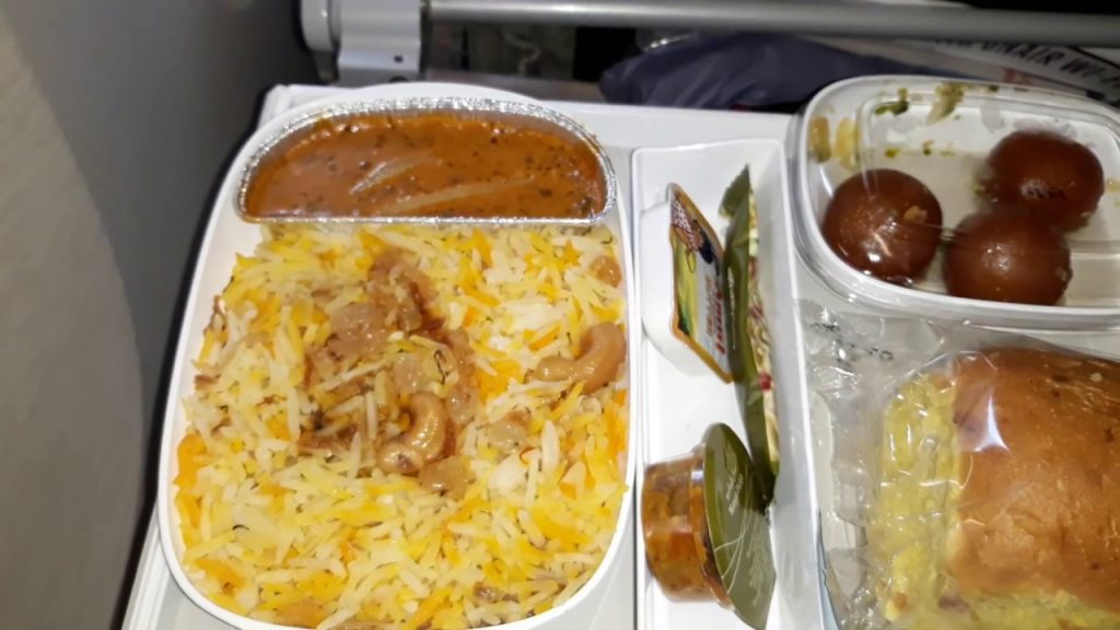 Emirates Airlines Food Review Economy Class Food in Emirates