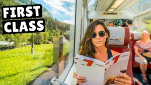FIRST CLASS GLACIER EXPRESS TRAIN worth 300 for an 8