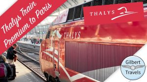First High Speed Train Thalys Premium Class Amsterdam to Paris