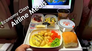 HD Economy Meals on Big Airlines Emirates Delta United