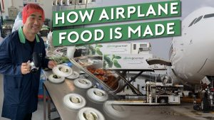 How Airplane Food is Made? Inside Gate Gourmet Kitchen