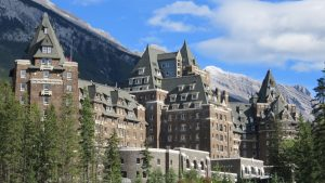 Inside the world famous FAIRMONT BANFF SPRINGS HOTEL Canada impressions amp
