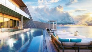 Largest overwater villa in the Maldives 25000 a night
