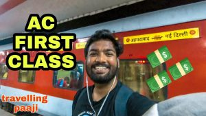 Mazedar Rajdhani AC First Class Indian Railways AC 1st