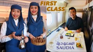 Saudia Airlines First Class Is it Sam Chui approved