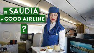 Saudia New A320 Flat Bed Business Class Scenic Flight