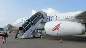 SriLankan Airlines A330 300 Business Class Maldives to Qatar via Colombo