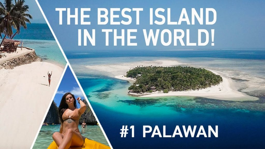 THE MOST BEAUTIFUL ISLAND IN THE WORLD Palawan Philippines