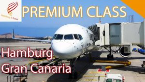 TRIPREPORT CONDOR PREMIUM CLASS | Hamburg(HAM)-Gran Canaria(LPA) B 757-300 | Hamburg and Travel