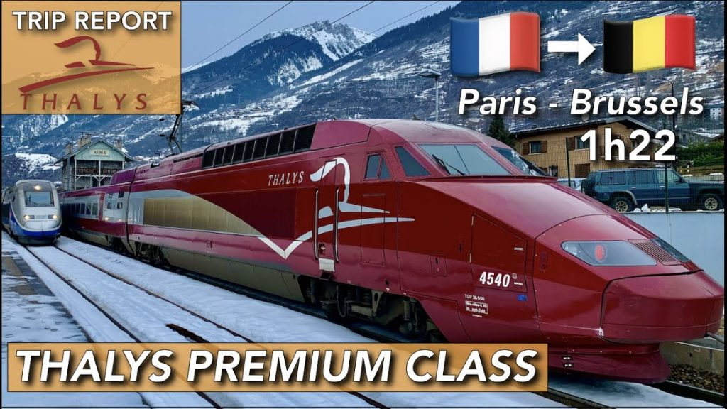 Thalys Premium Class wonderful experience from Paris to Brussels