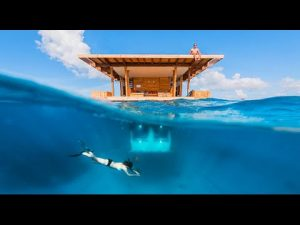 The Manta Resort's Underwater Room, Pemba Island, Zanzibar - Best Travel Destination