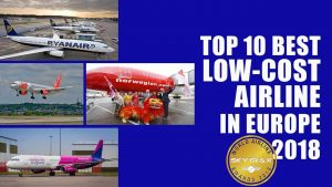 Top 10 Best low cost airline in Europe 2018