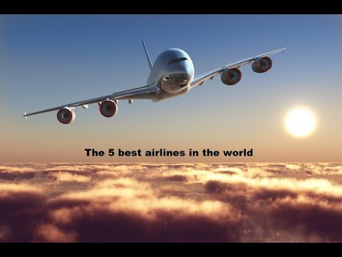 Top 5 Most Luxurious and Best Airlines  ## In The World..