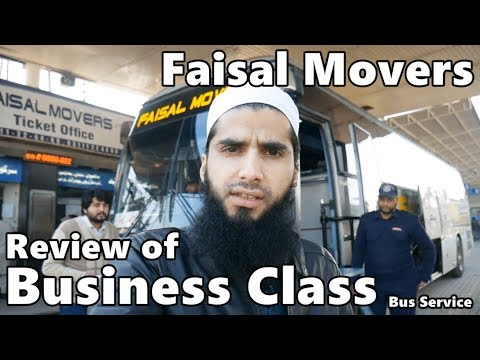 Travel Log 4 Review of Faisal Movers Business Class
