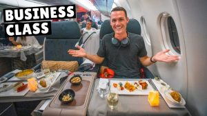 Turkish Airlines BUSINESS CLASS (full tour of New Istanbul Airport Business Lounge)