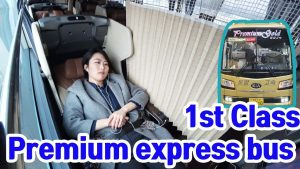 What39s the premium express bus 1st class Korea travel