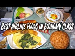 10 Best Airline Foods in Economy Class