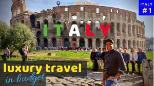 7 days in Italy for 23,000 Rs | Alitalia - Business Class