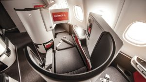 Avianca B787 Dreamliner Business Class from Bogota to Madrid