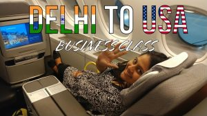 DELHI TO USA BUSINESS CLASS INDIAN VLOGGER STYLE family vlogs | travel vlog