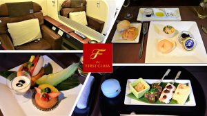 ENTIRE Japan Airlines First Class Experience FOODSNACKSPlane Spotting