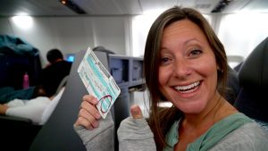 FLYING BUSINESS CLASS FOR KARA'S BIRTHDAY | American Airlines Business Class for 11 hours