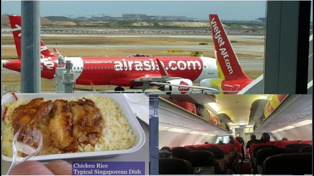Flying with AirAsia to Singapore - World's Best Low Cost Carrier Skytrax 2019