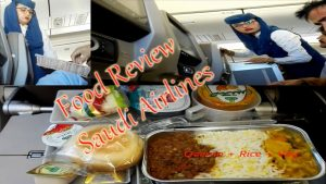 Food Review Saudi Airlines Economy Class