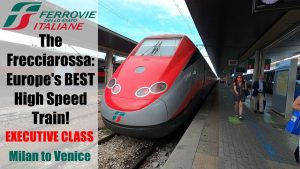 Frecciarossa Executive Class aboard Europe39s BEST High Speed Train
