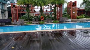 Hard Rock Hotel Resorts World Sentosa Swimming Pool Vid