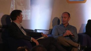 Interview On Stage with Kenny Jacobs Ryanair World Low