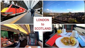 London to Scotland by train with LNER First class