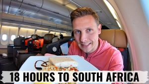 MY CRAZY 18 HOUR FLIGHT on SOUTH AFRICAN AIRWAYS BUSINESS