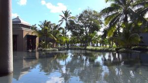 Mauritius Trou aux biches Beacomber luxury Hotel. Filmed with Sony GW55 and WX120 onto DJI P1