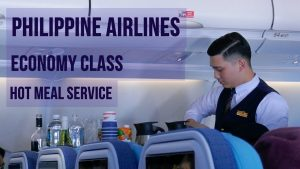 PHILIPPINE AIRLINES | TRANS-PACIFIC HOT MEAL SERVICE | INTERNATIONAL ECONOMY CLASS