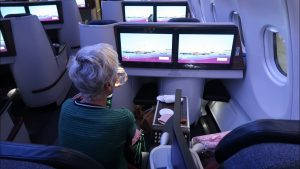 Qatar Airways A330 Business Class from Doha to the Seychelles (+ tour of Al Mourjan lounge)