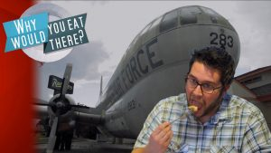 THE AIRPLANE RESTAURANT: Best. Plane. Food. Ever.  - Why Would You Eat There?