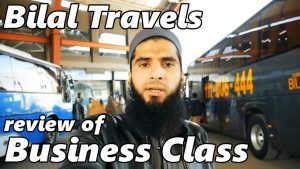 Travel Log 5 : Review of Bilal Travels Business Class Bus Service
