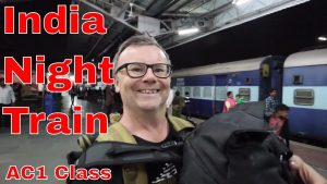 Udaipur to Agra Night Journey in Indian Train First Class