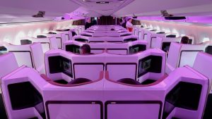 Virgin Atlantic A350 (new) Upper Class from London to New York: a fabulous flight experience!