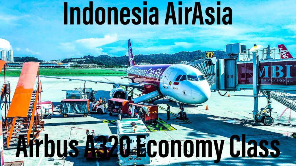 *WORLD'S BEST Low-Cost Airline* Indonesia Air Asia Airbus A320 | Penang to Jakarta | QZ 227