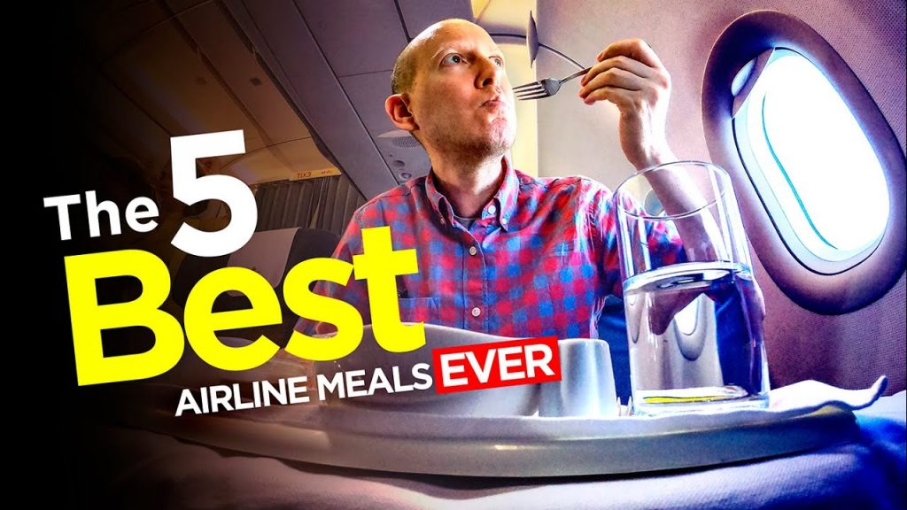 Which airline has the BEST food?