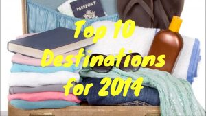 World's Top 10 Tourist Destinations for 2014