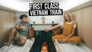 13 Hour First Class Sleeper Train in Vietnam Hanoi