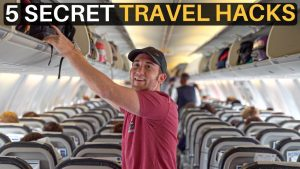 5 SECRET TRAVEL HACKS make your life easier