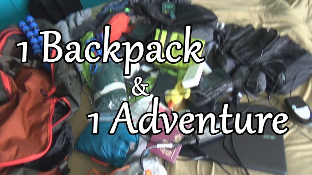 7KG backpack for worldtrip Winter edition Travel advice